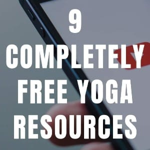 Beginner yoga – 9 completely FREE Yoga Resources to Kickstart Your Home Practice [2020 Update]