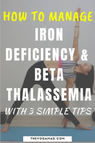Managing Iron Deficiency Thalassemia Minor through energy boosting workouts