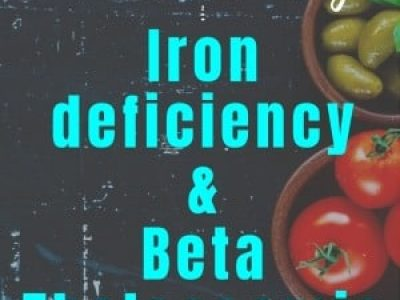 3 effective ways to manage beta Thalassemia and iron deficiency