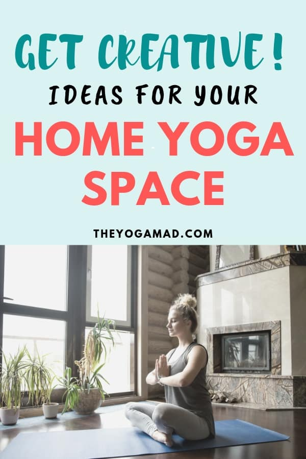 Ideas for home yoga space