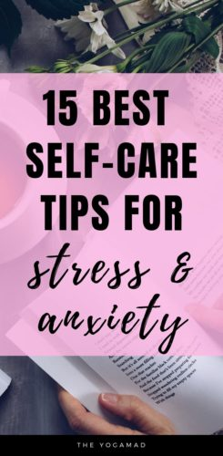 Self care tips for managing stress and anxiety