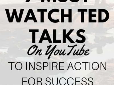 7 Amazing Ted Talks On YouTube To Inspire Action for Success