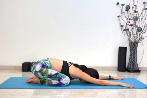 Wide Legged Child's Pose (Utthita Balasana)