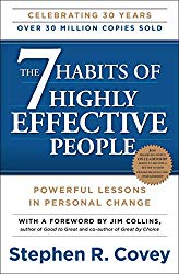7 Habits of highly effective people - 27 Best Self-Help Books to Read 2019