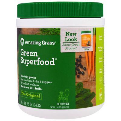 Best green powder for getting your daily superfood intake - Amazing Grass