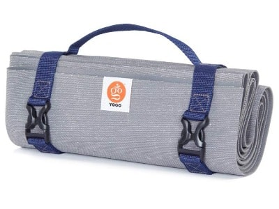 Best travel yoga mat - Yogo Travel Yoga Mat with carry strap