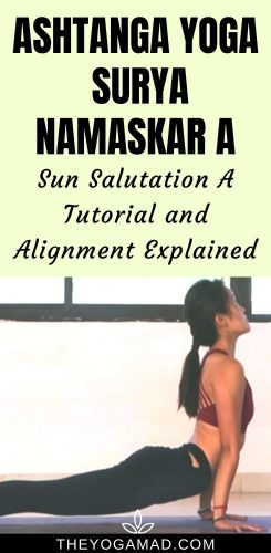 Ashtanga Sun Salutation A Sequence (Surya Namaskar A)
