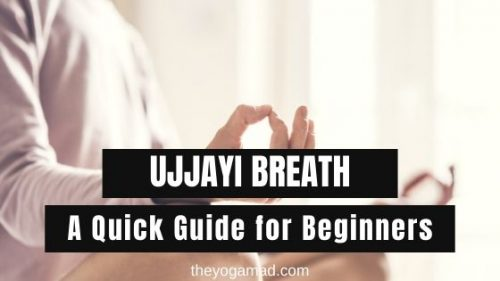 Banner: Ujjayi Breath - A Quick Guide for Beginners #pranayama