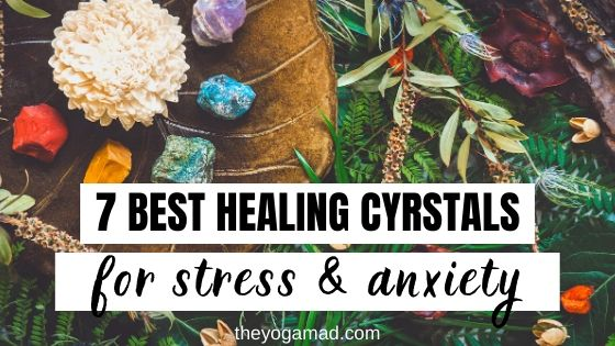 Healing Crystals for Stress and Anxiety - Pin