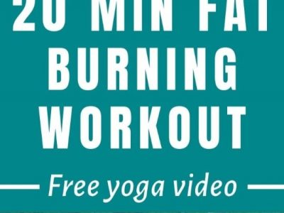 Yoga Workout for Fat Burn & Toning (Free Video)