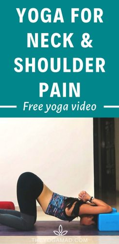 Yoga for Neck and Shoulder Pain - Free Video