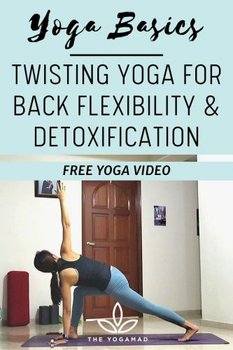 Twisting Yoga - Day 6 yoga basics challenge