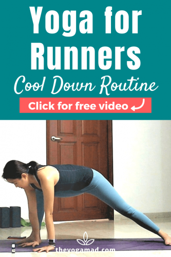 Yoga for Runners Cool Down - Pin