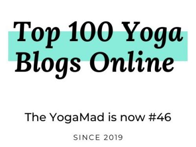 Top 100 Yoga Blogs Ranking: We are newly listed at #46!