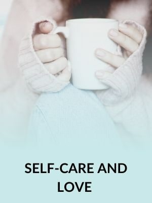 Self care collection portrait
