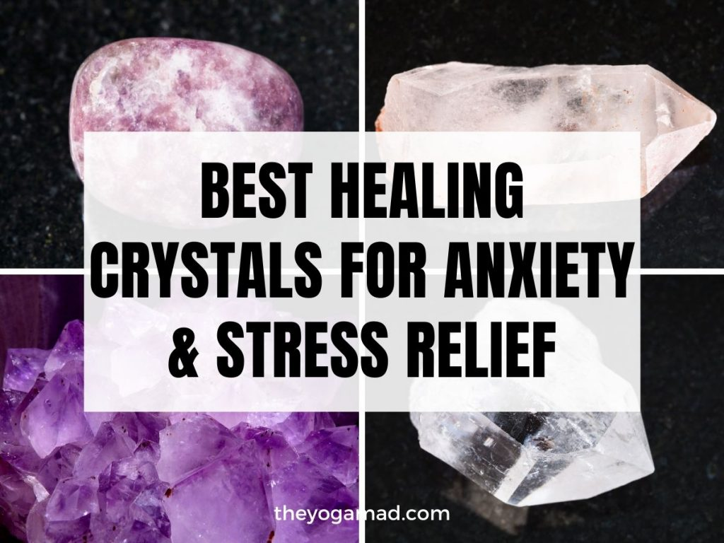 Read more about the article Top 4 Healing Crystals for Anxiety and Stress Relief (and Other Calming Stones)