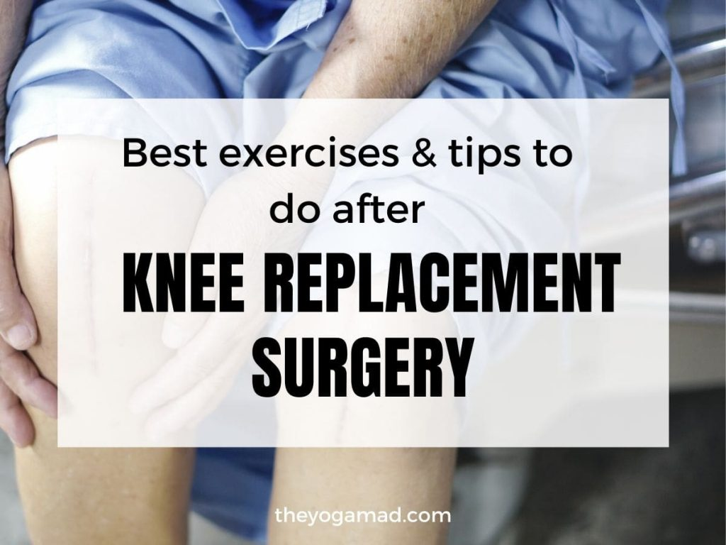 knee replacement exercises - featured