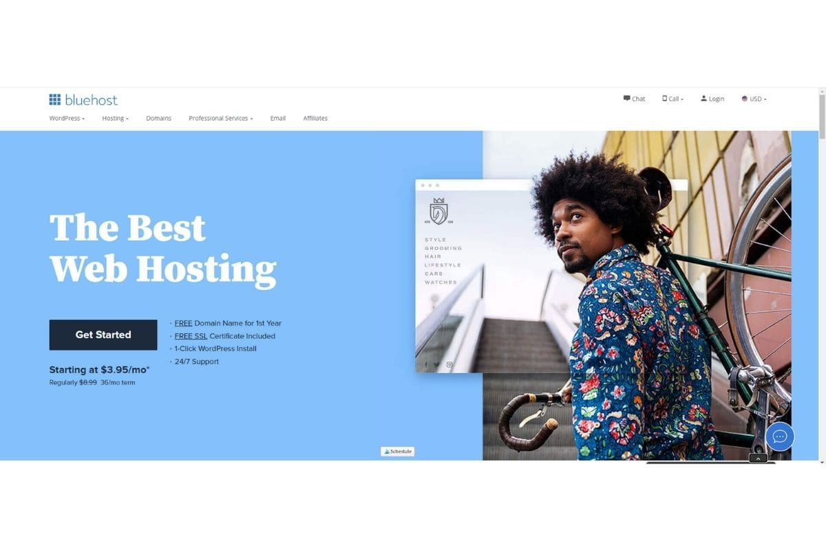 Bluehost - Get Started