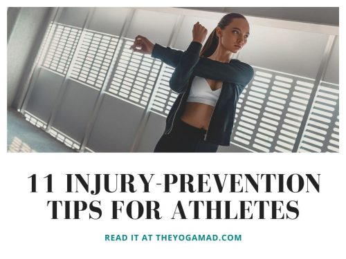 11 Injury prevention tips for athletes