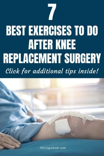 knee replacement exercises - pin