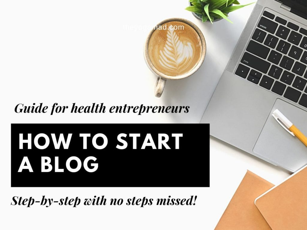 Start a Blog Feature Image