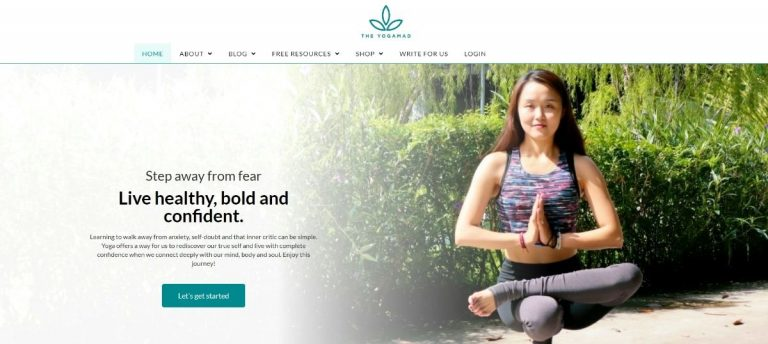The YogaMad Website
