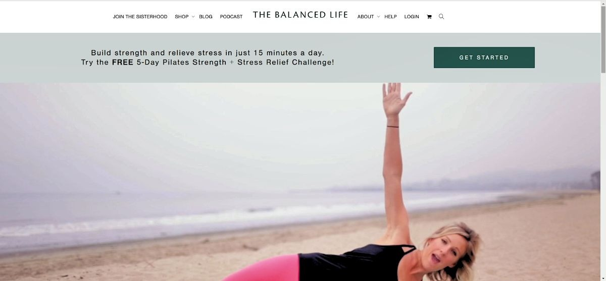 The Balanced Life Website