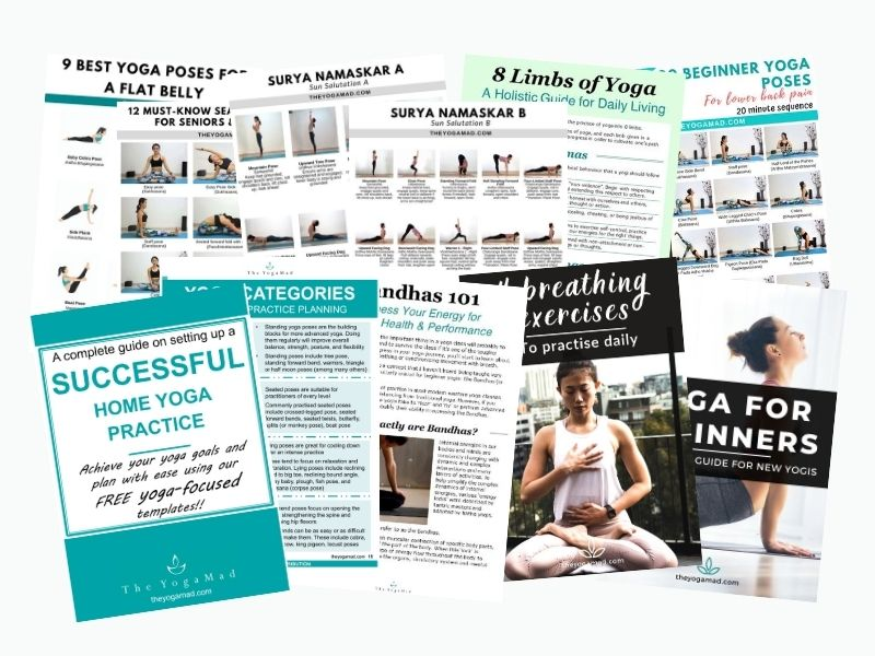 Access the Free Yoga Resource Library | The YogaMad