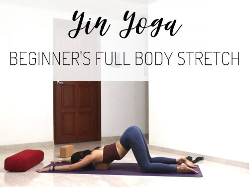 Yin Yoga for Beginners: Full Body Stretch for Flexibility and Stress Relief