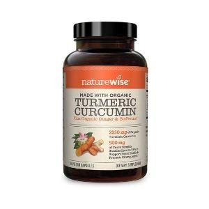 Naturewise Turmeric Curcumin Supplement for Leaky Gut