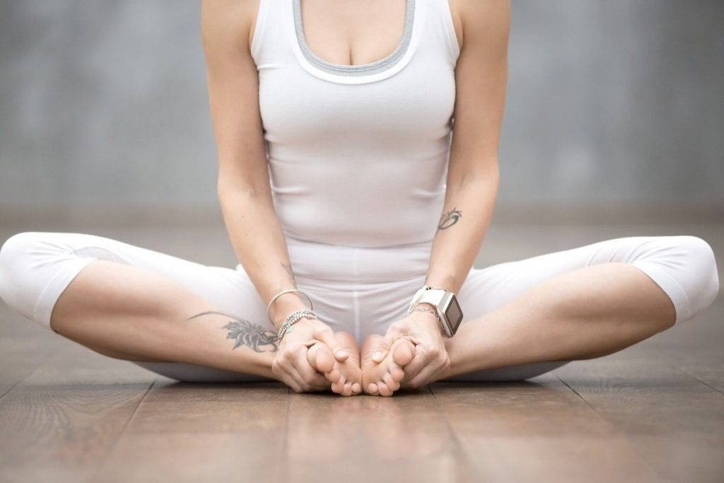 Butterfly or Bound Angle Pose