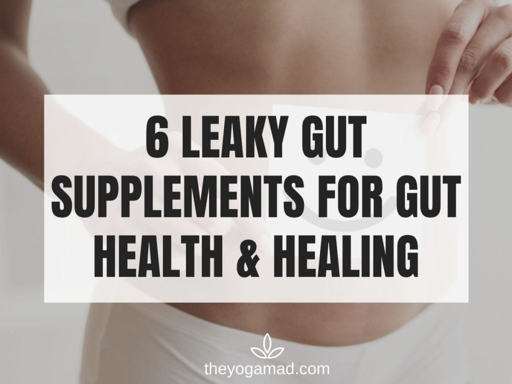 6 Leaky Gut Supplements - Featured