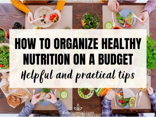 Healthy Nutrition Budget - Featured