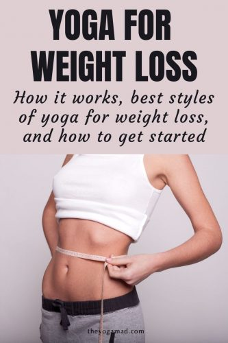 Yoga for weight loss - pin