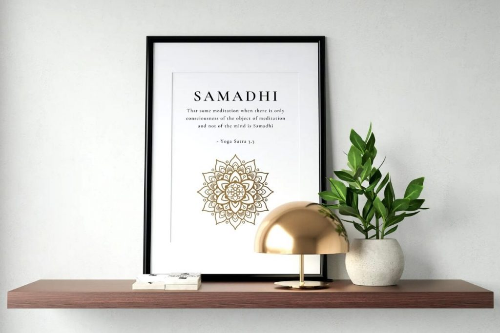 Samadhi Meaning - Golden Mandala