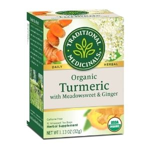 Organic Turmeric Tea with Ginger