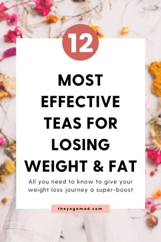 12 most effective teas for weight loss