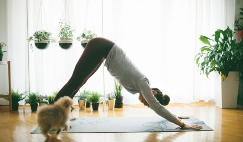Read more about the article How to Create a Yoga Space at Home [Décor Ideas + 8 Examples]